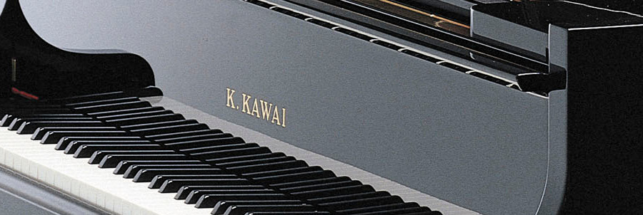 Standard Piano Sales and Service banner. Kawai Grand Piano